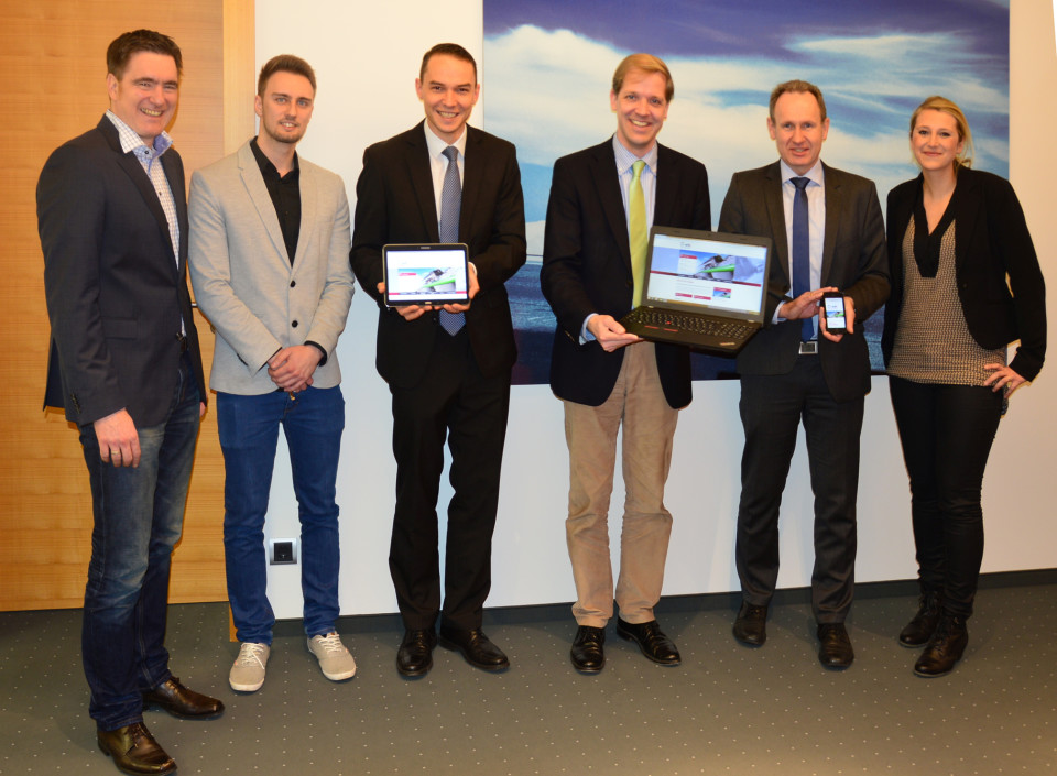 wfc Wirtschaftsförderung Kreis Coesfeld GmbH stellt neue Internetseite vor