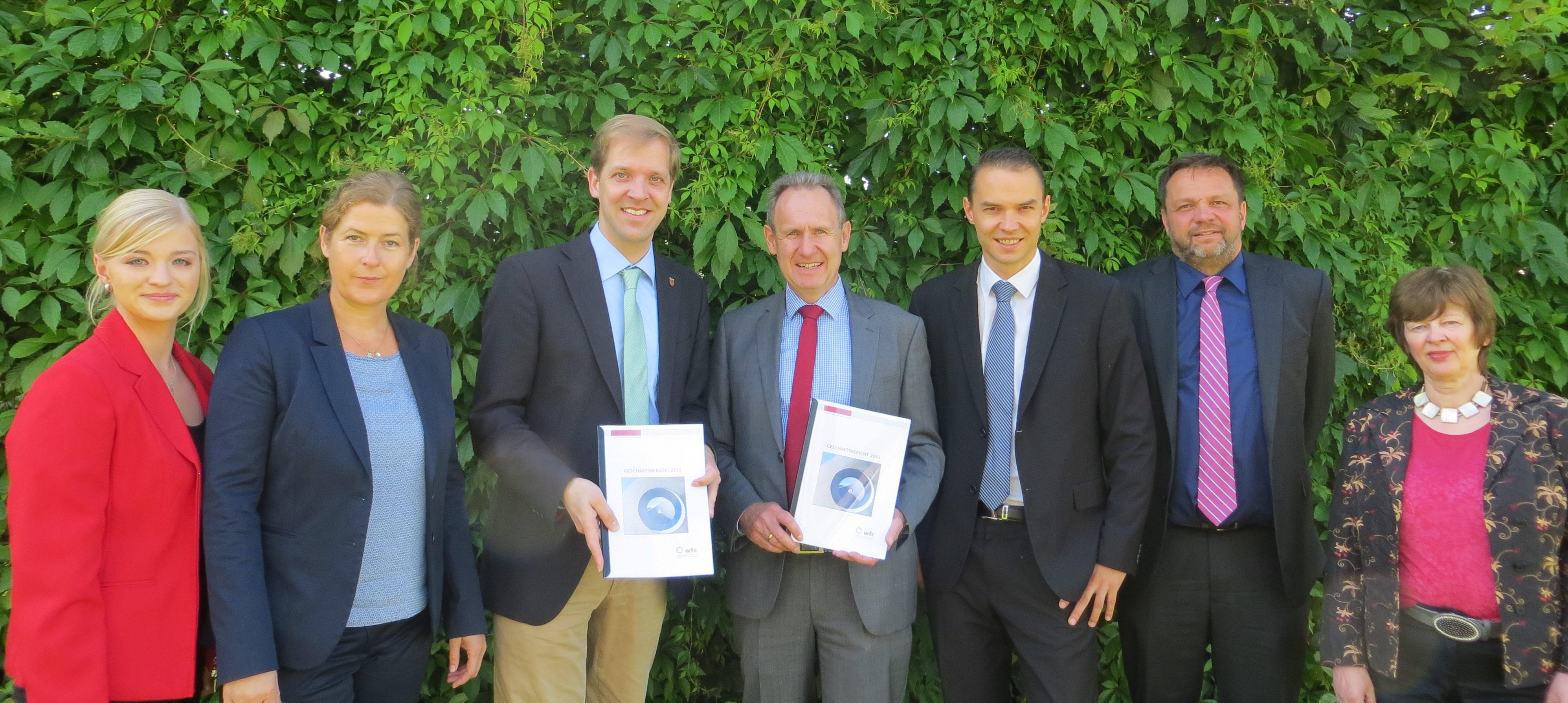 Wirtschaftsförderung Kreis Coesfeld legt Geschäftsbericht 2015 vor