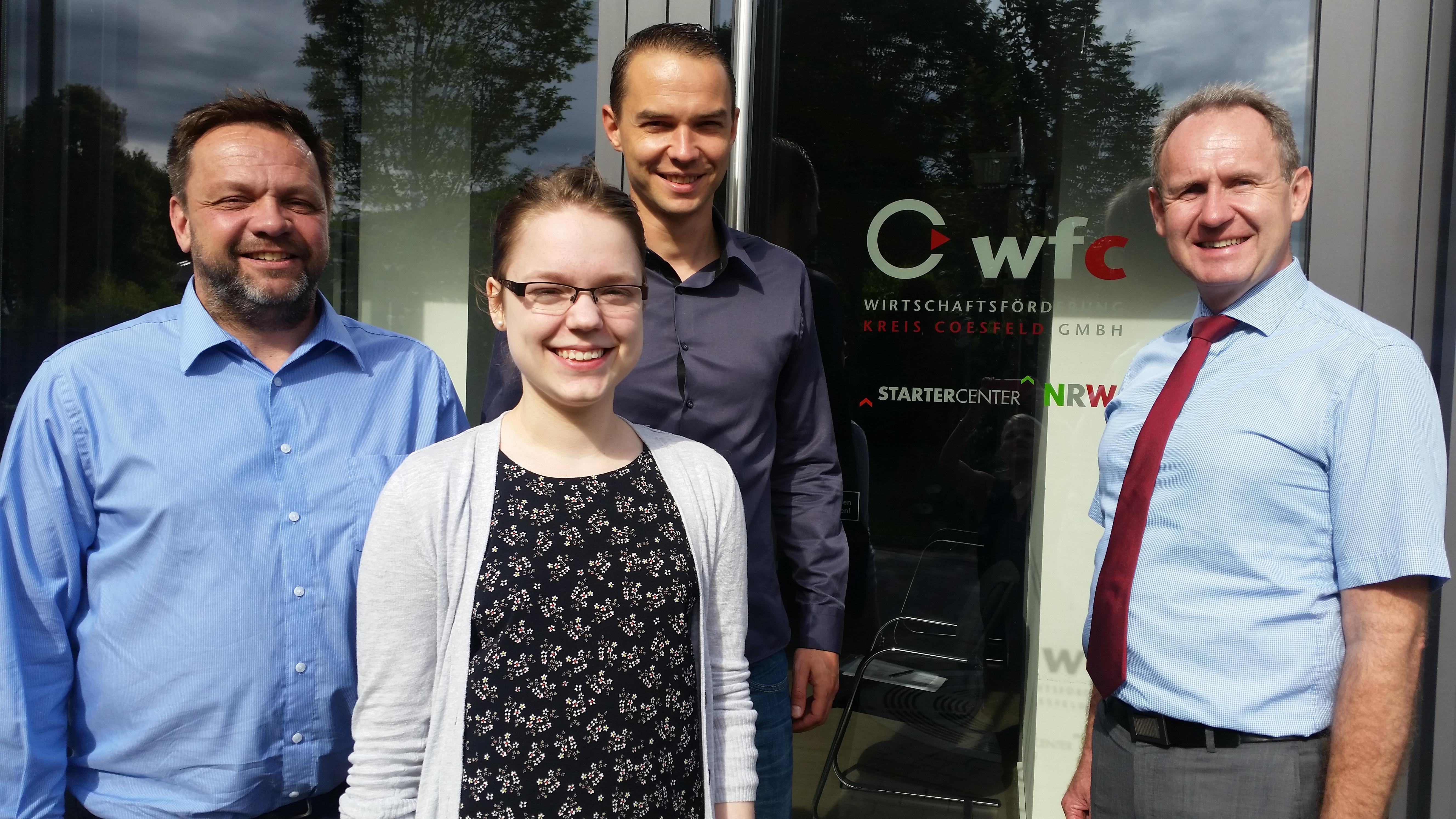 Kreis Coesfeld: wfc legt Gründungsevaluation 2016 vor
