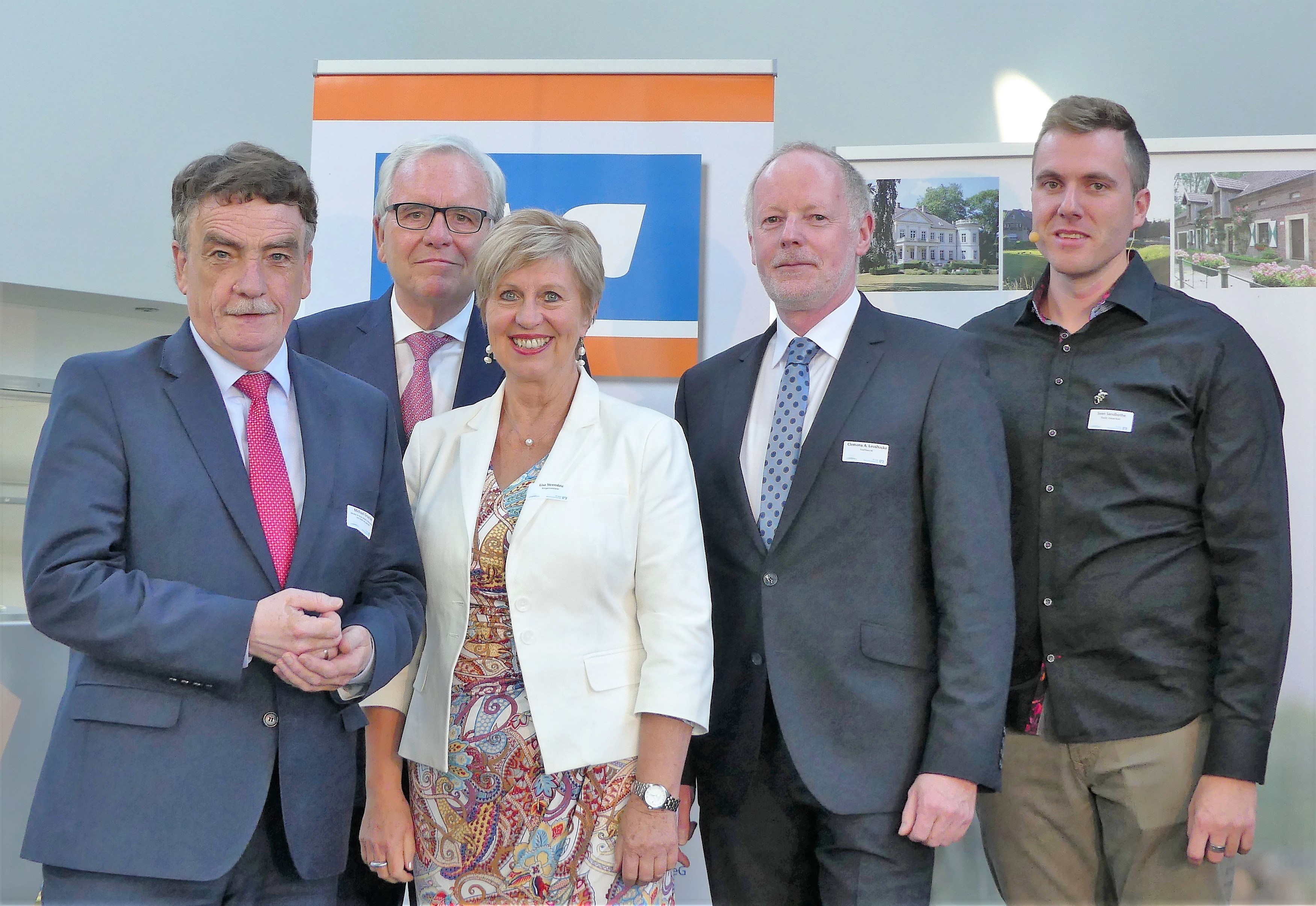 Minister Groschek beim Unternehmerfrühstück im Kreis Coesfeld