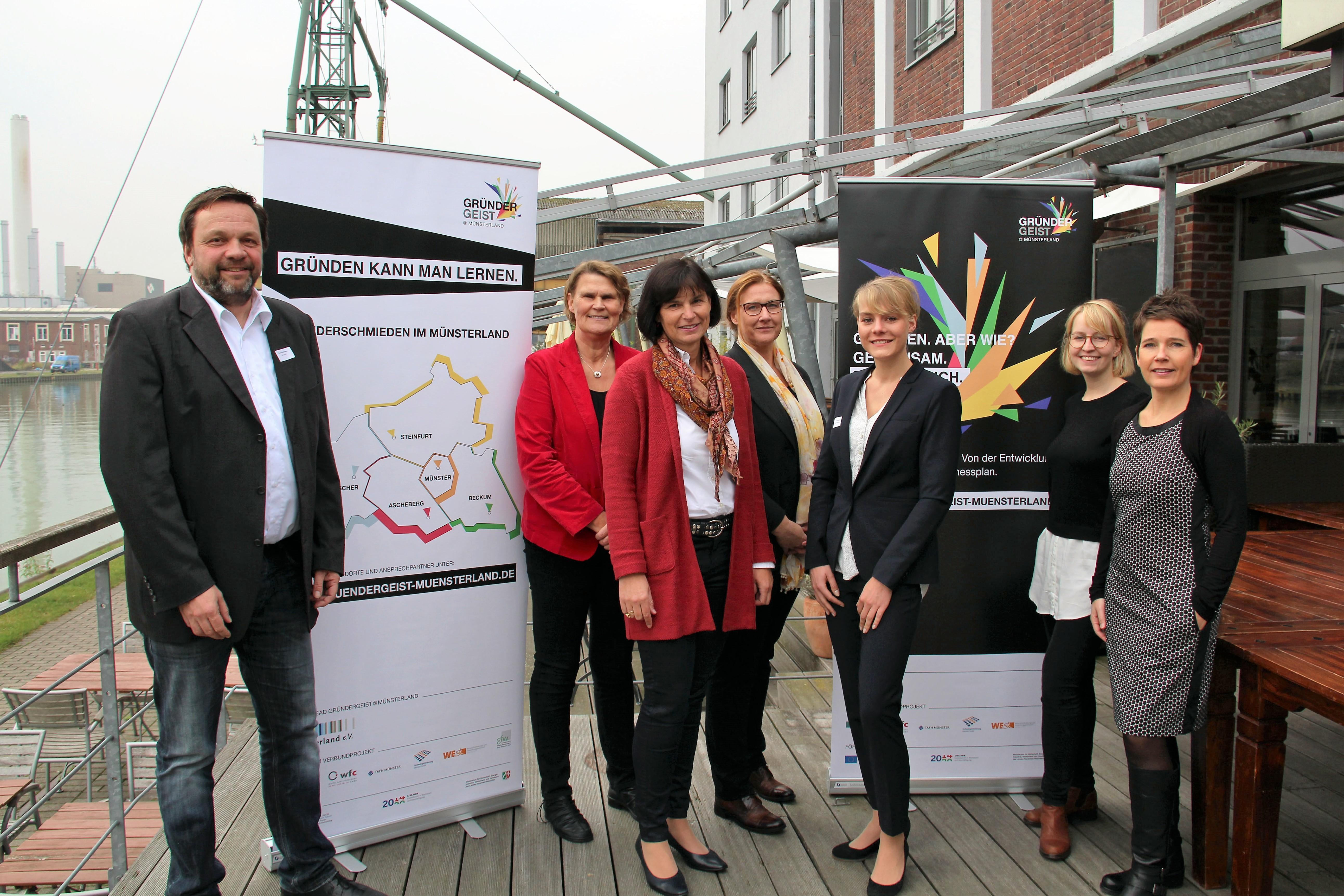 Münsterlandweite Gründungsoffensive ist gestartet: Gründer-schmieden unterstützen potentielle Gründer