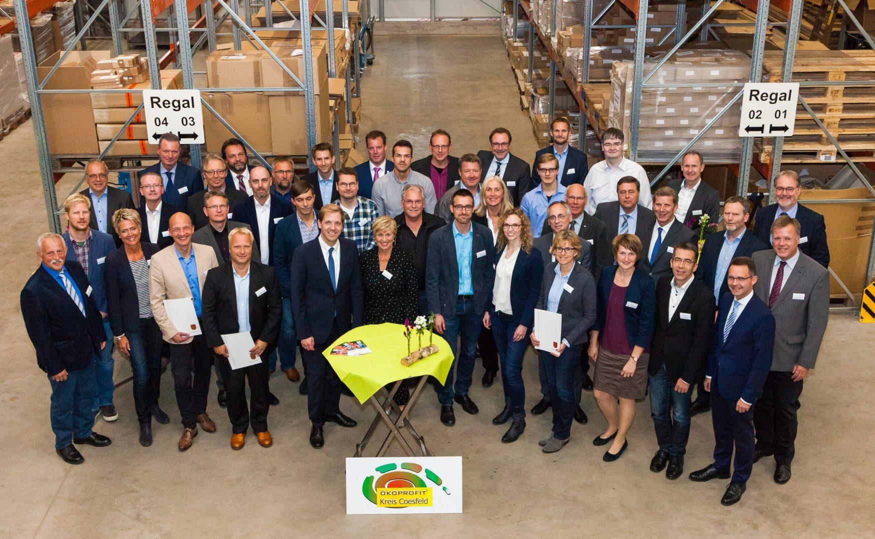 ÖKOPROFIT-Betriebe im Kreis Coesfeld ausgezeichnet