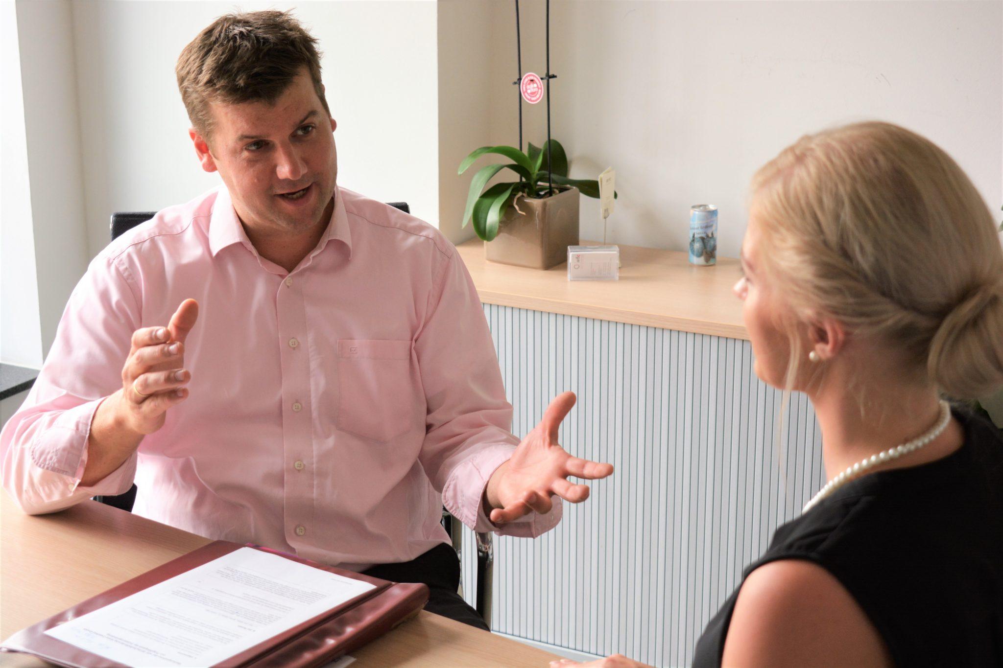 """Jochen Wilms , """"Breitbandkoordinator"""" des Kreises Coesfeld, spricht über das erste halbe Jahr in seinem Amt"""