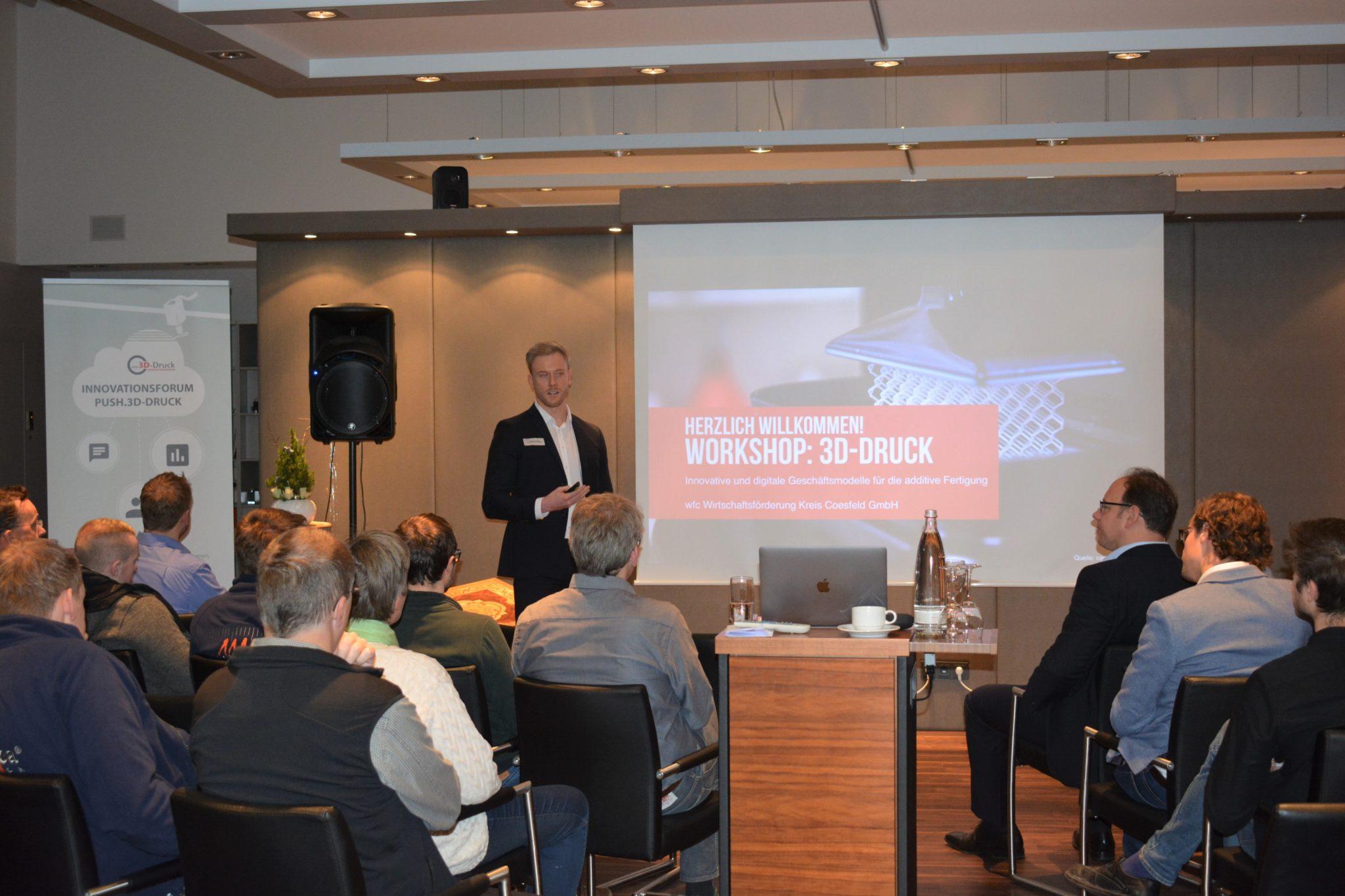 wfc-Workshop analysiert innovative und digitale Geschäftsmodelle im 3D-Druck