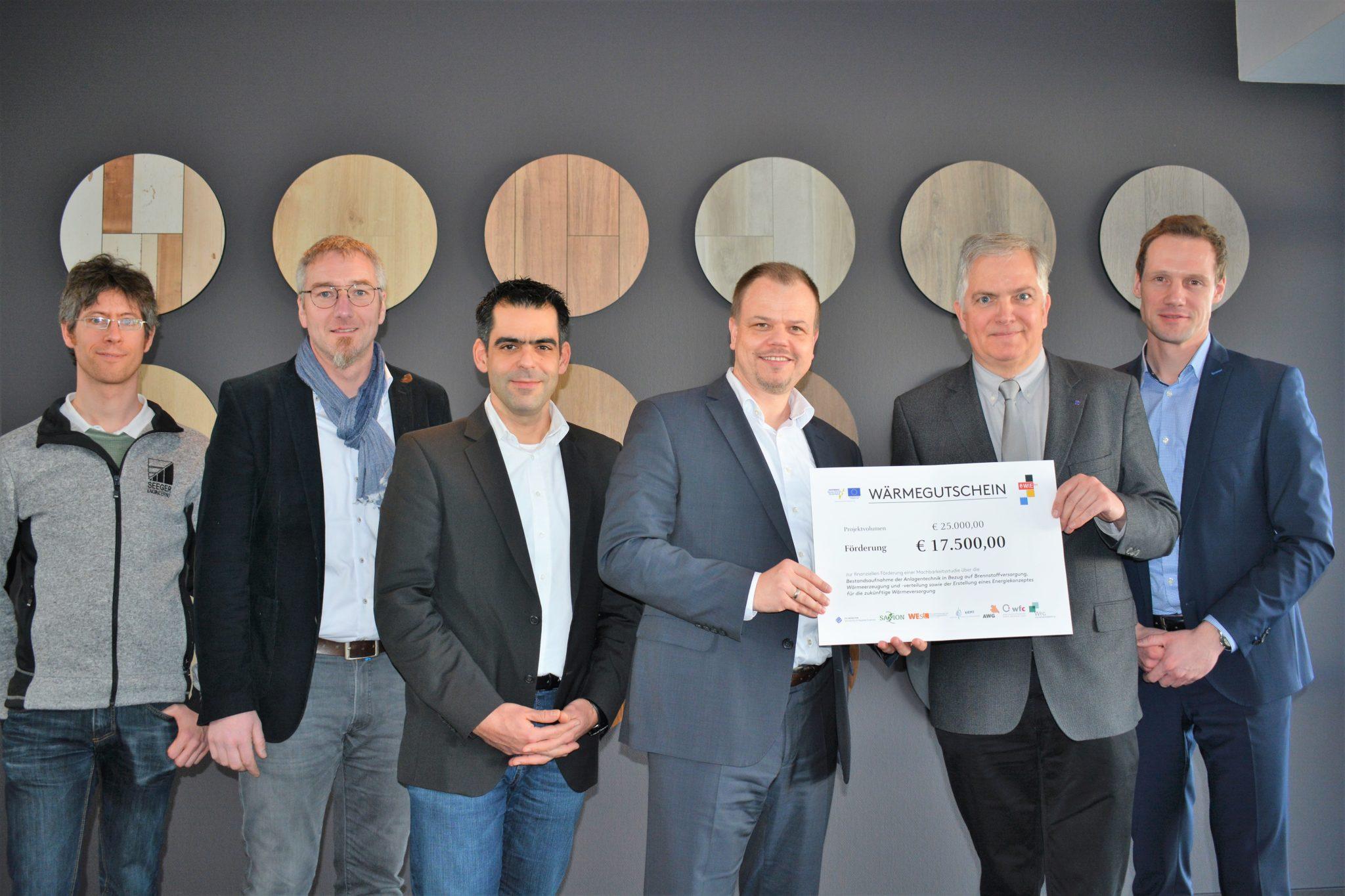 Parador GmbH in Coesfeld erhält Förderung für Machbarkeitsstudie zur nachhaltigen Wärmeversorgung