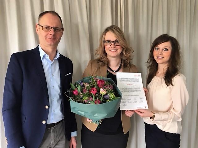 Zwei Unternehmerbriefe NRW 2018 im Münsterland gehen in den Kreis Coesfeld