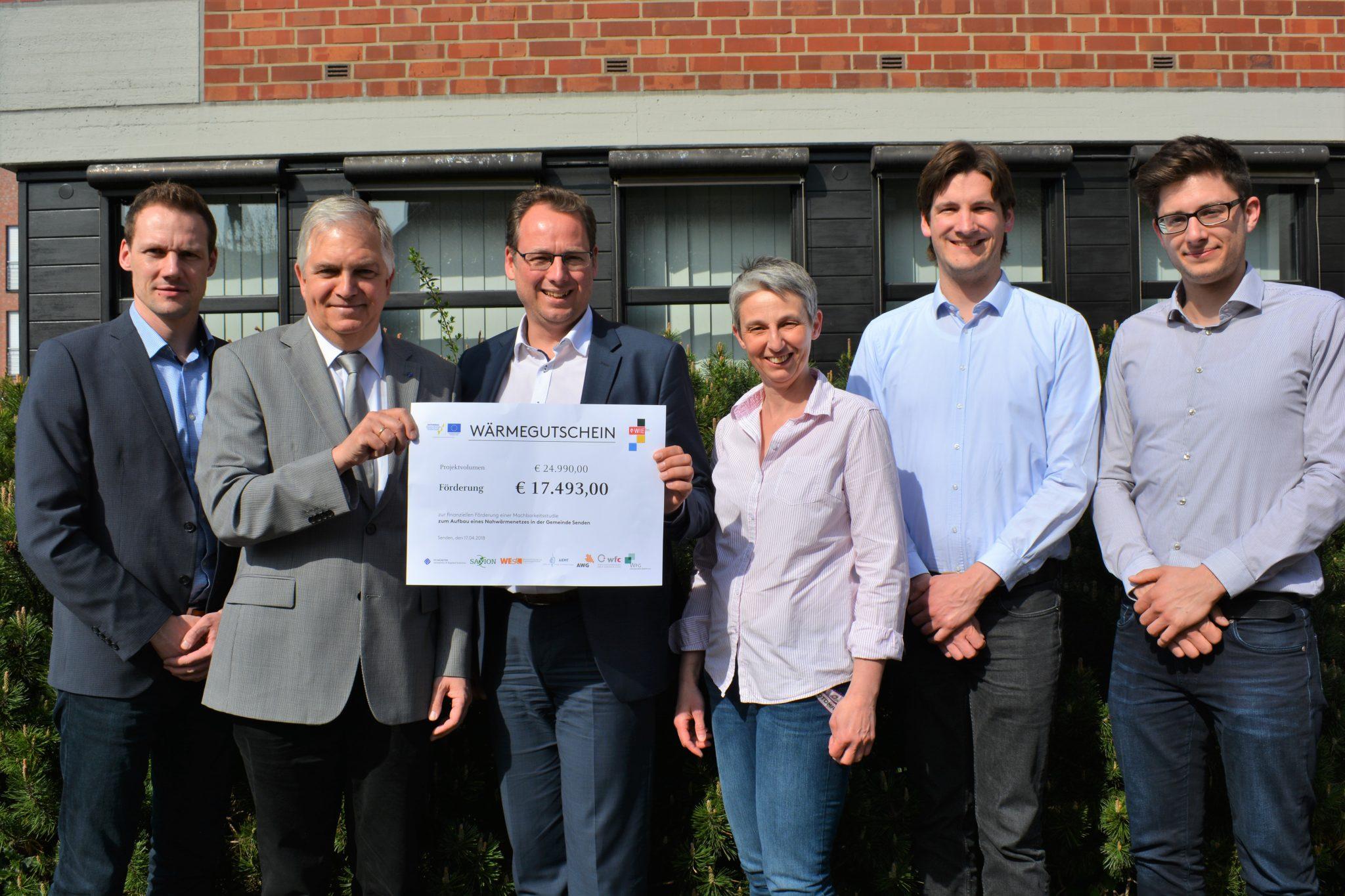 Gemeinde Senden erhält Förderung für Machbarkeitsstudie zur nachhaltigen Wärmeversorgung von vier Schulen