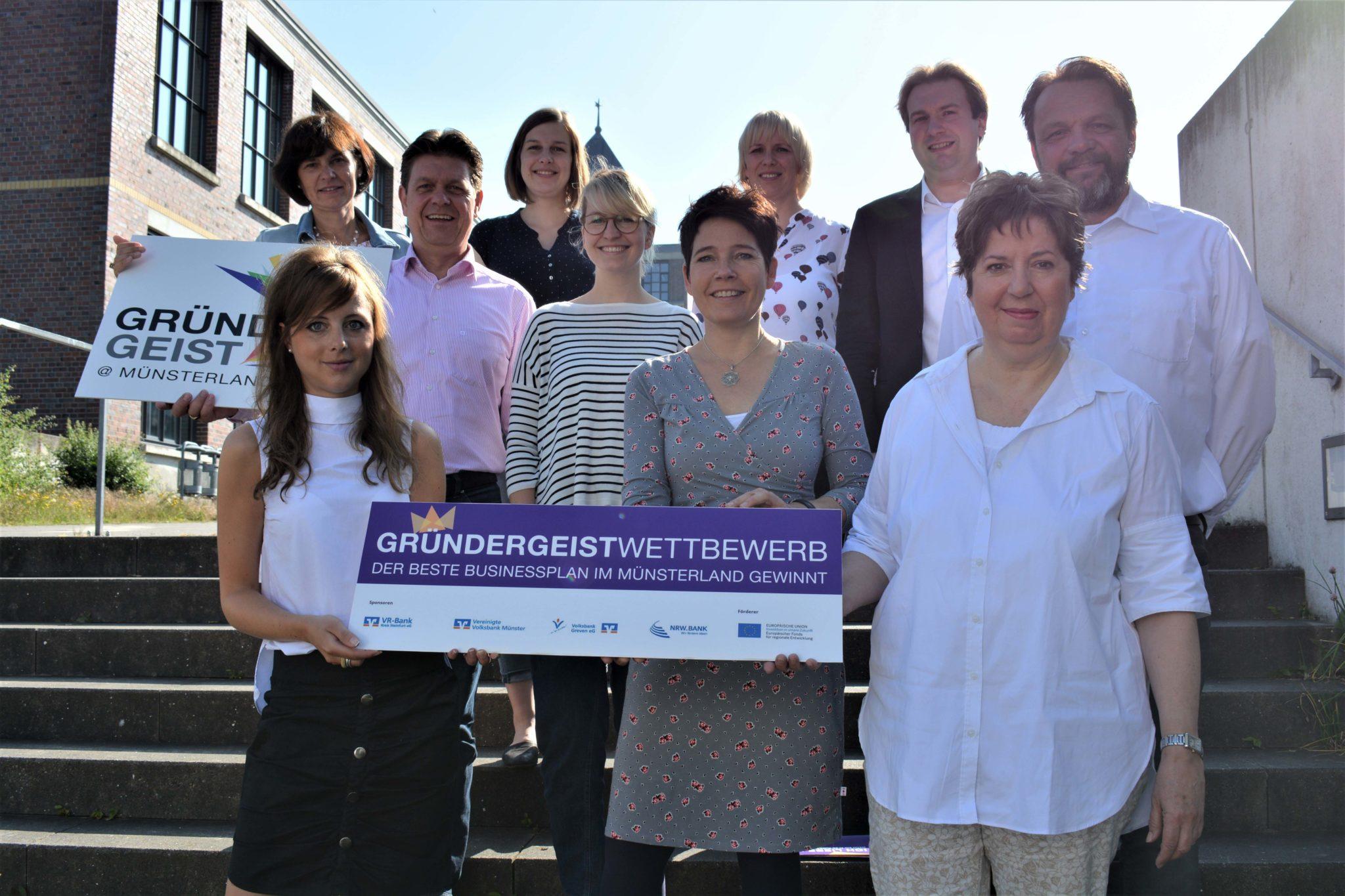 Gründergeist Wettbewerb sucht erstmals den besten Businessplan im Münsterland