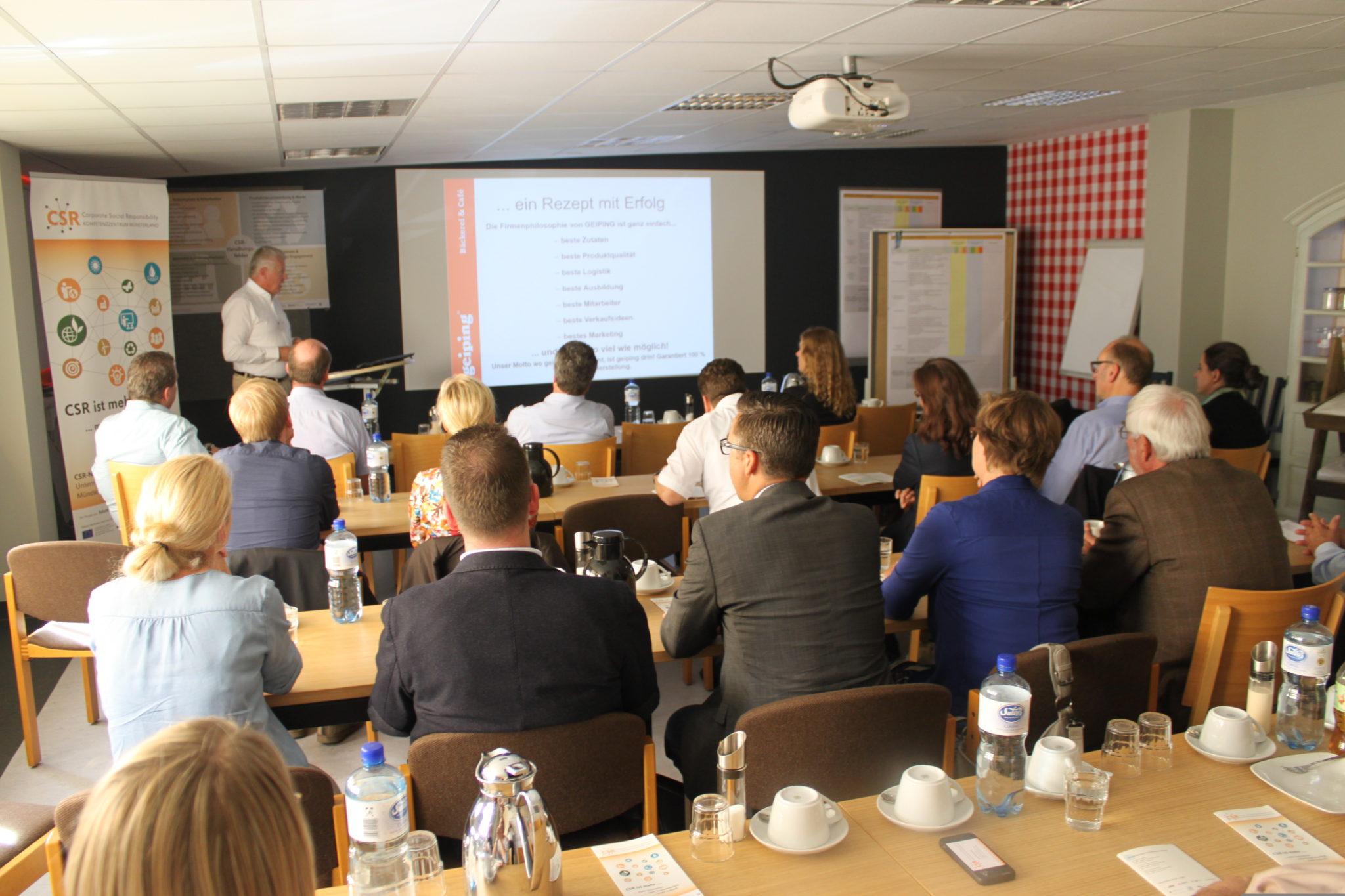 1. CSR-Themendialog Kreis Coesfeld – Selbstbewertung als Einstieg in die CSR-Strategie