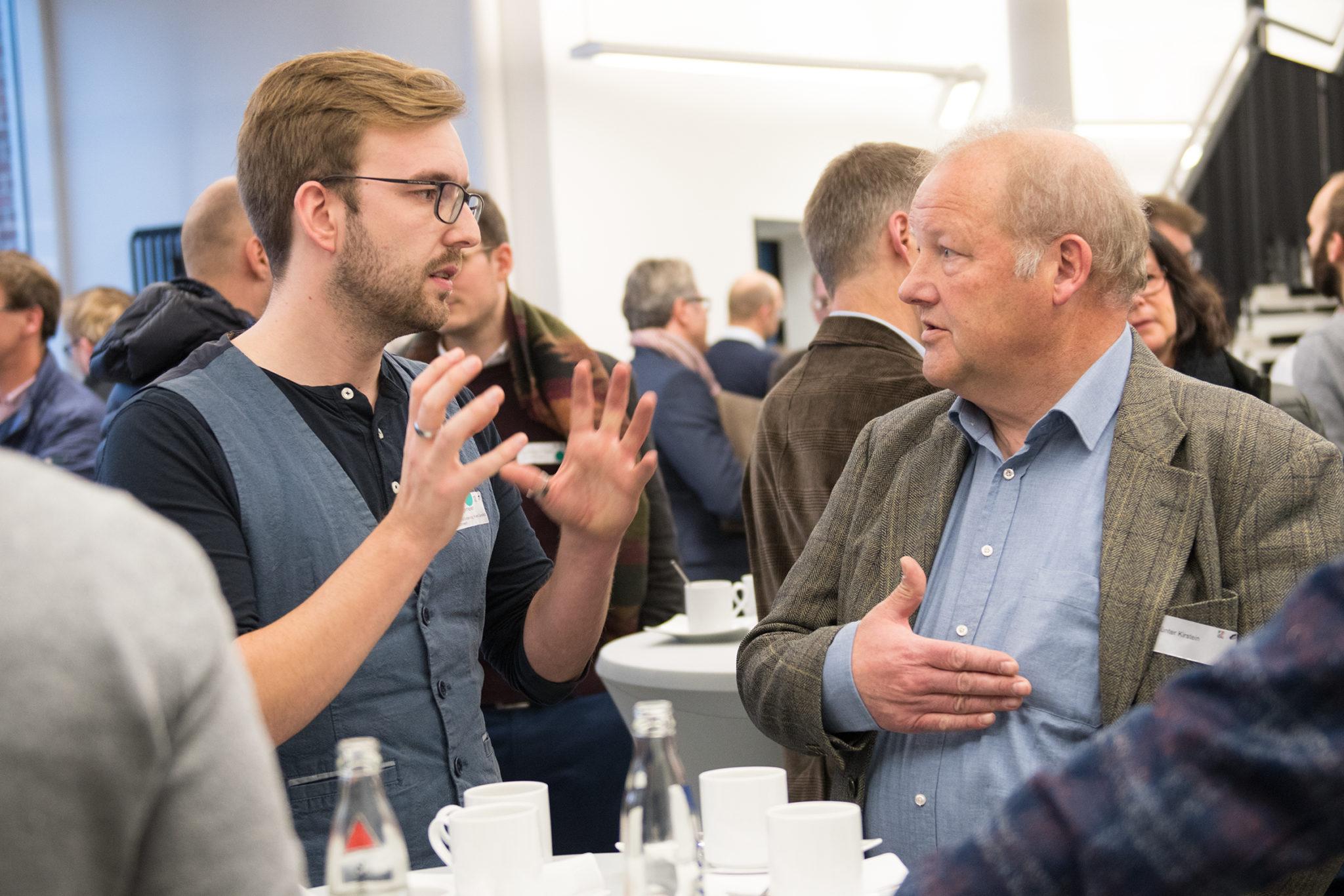 Projektbeginn start.connect: Auf der Suche nach dem digitalen Kick