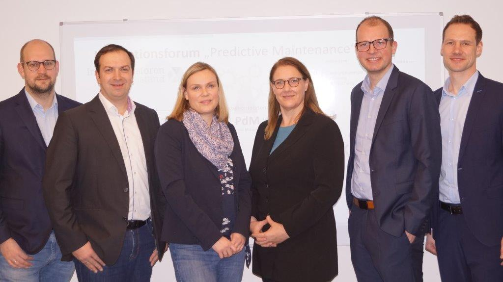 Innovationsforum zu Predictive Maintenance kommt ins Münsterland