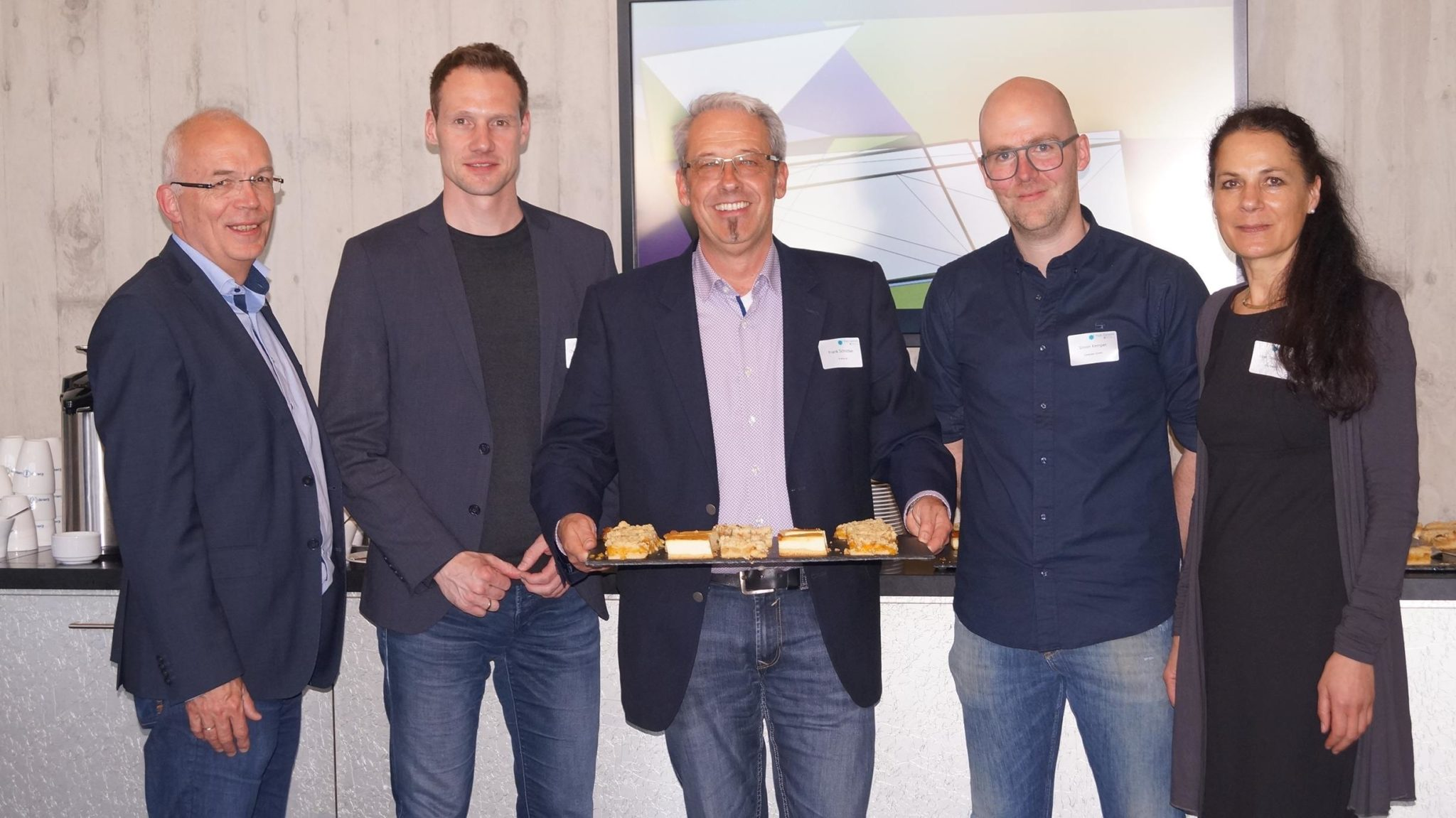 Erstes Hub:Satellit Digital Cafe am d.velop Campus in Gescher war ein voller Erfolg