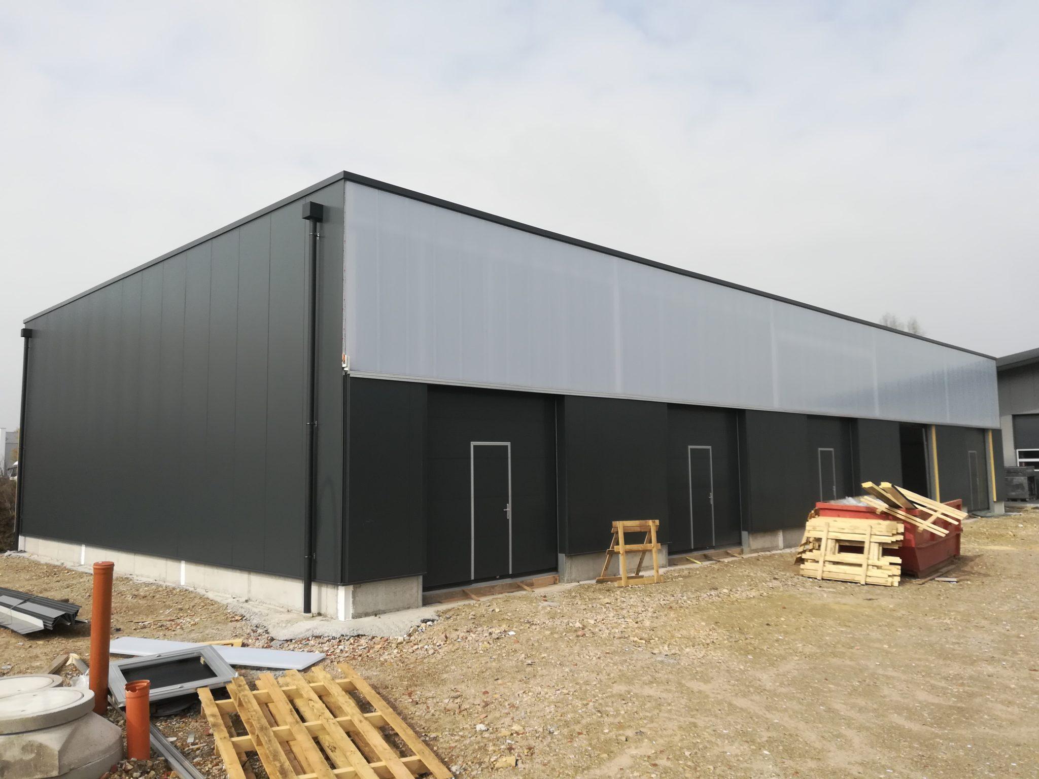 (Nr. 06122) Lagerhalle Erstbezug ca. 85 – m² beheizt mit vielen Extras