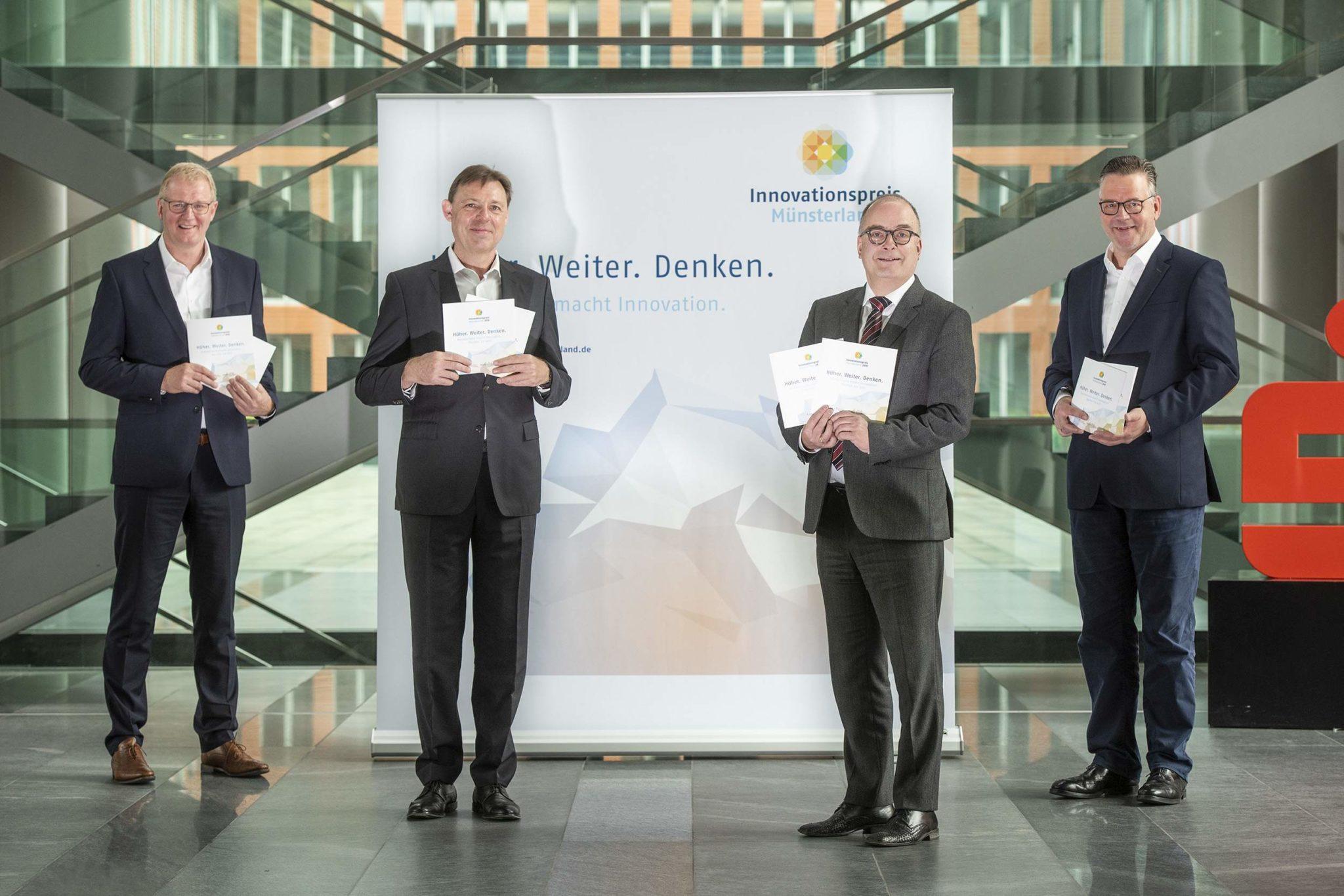 Jetzt bewerben zum Innovationspreis Münsterland