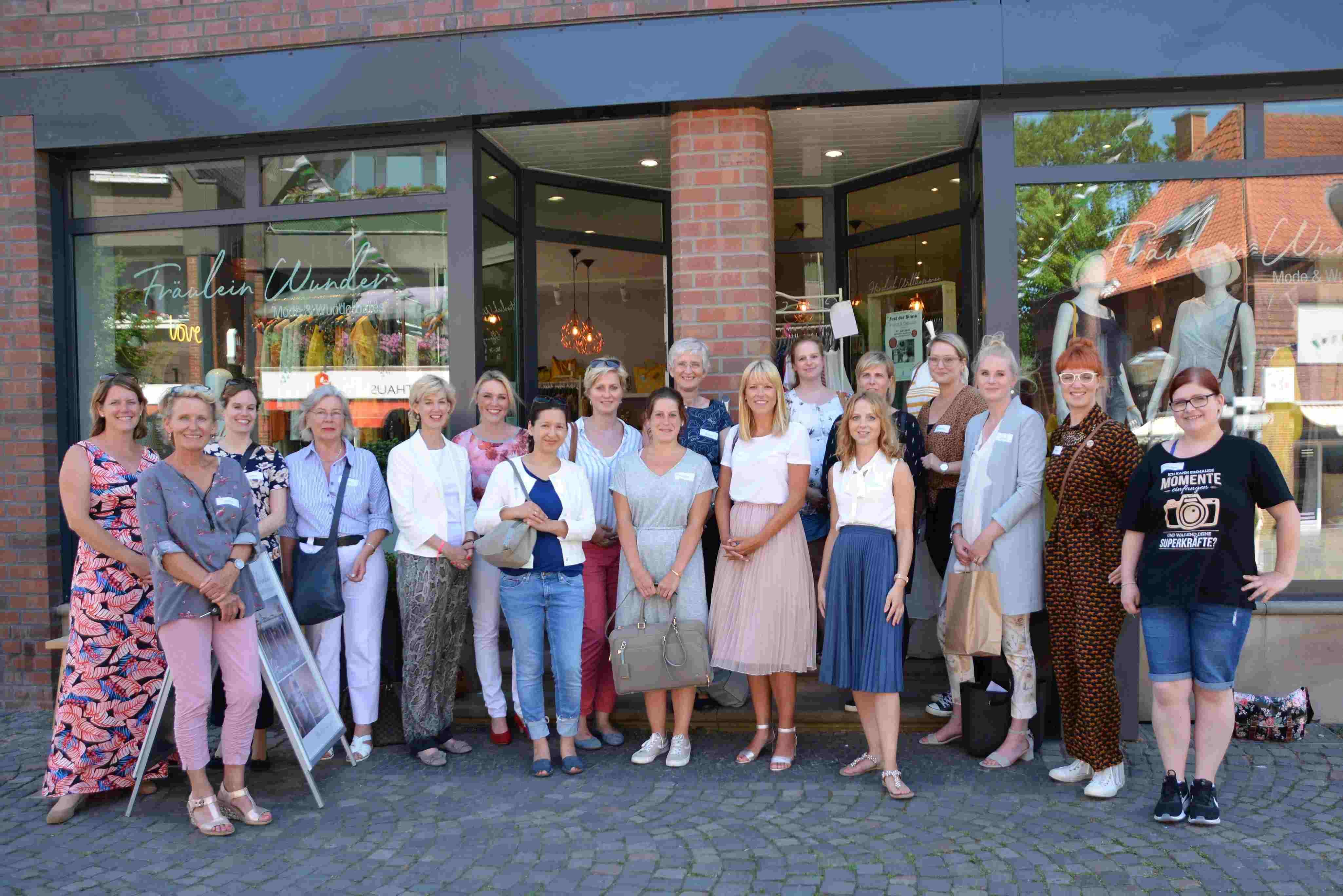 Jahrestreffen des Unternehmerinnen-Netzwerks zeigt Potentiale des Einzelhandels in Havixbeck