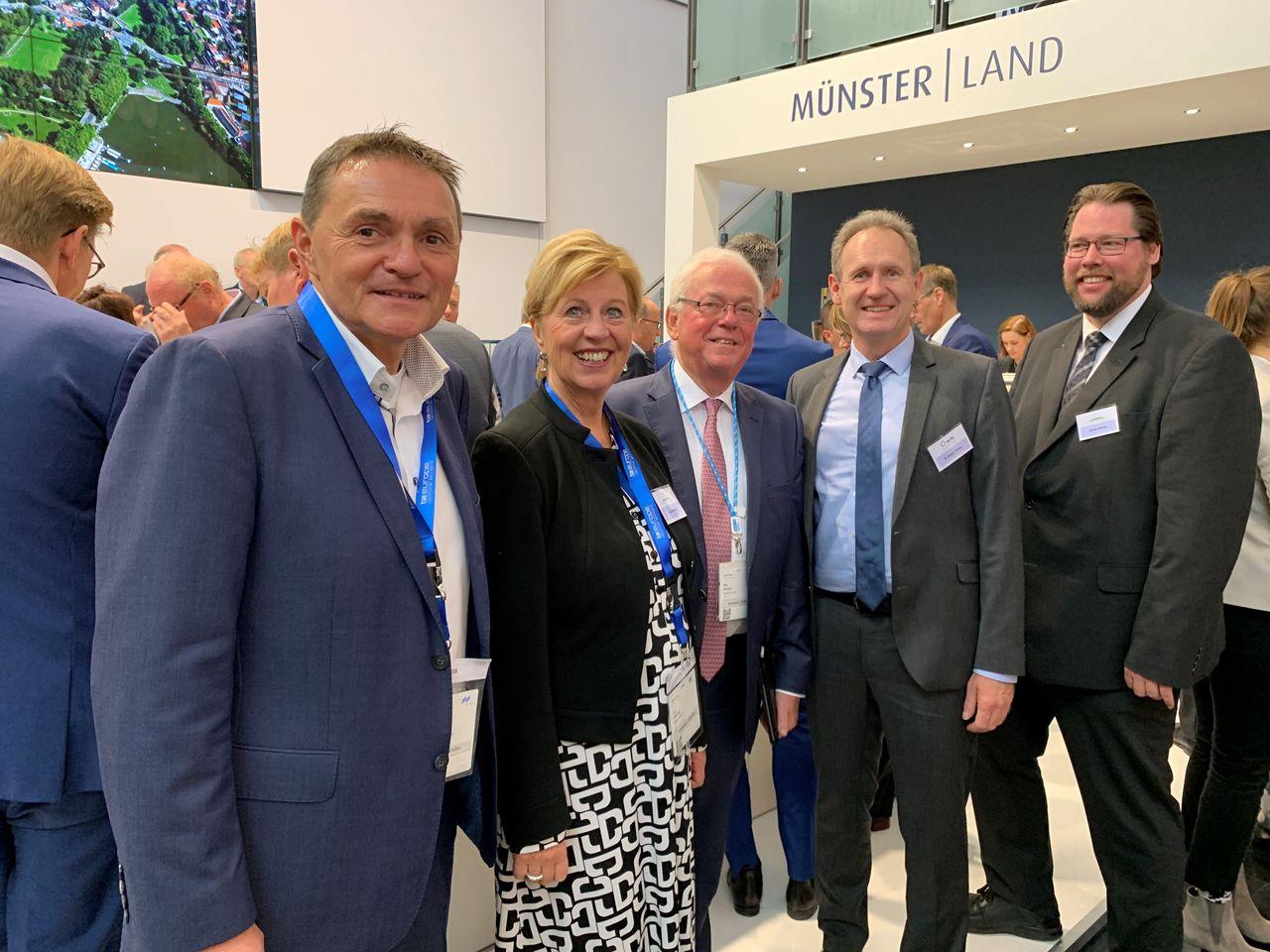 Kreis Coesfeld stellt innovative Mobilitätslösungen auf der Expo Real vor