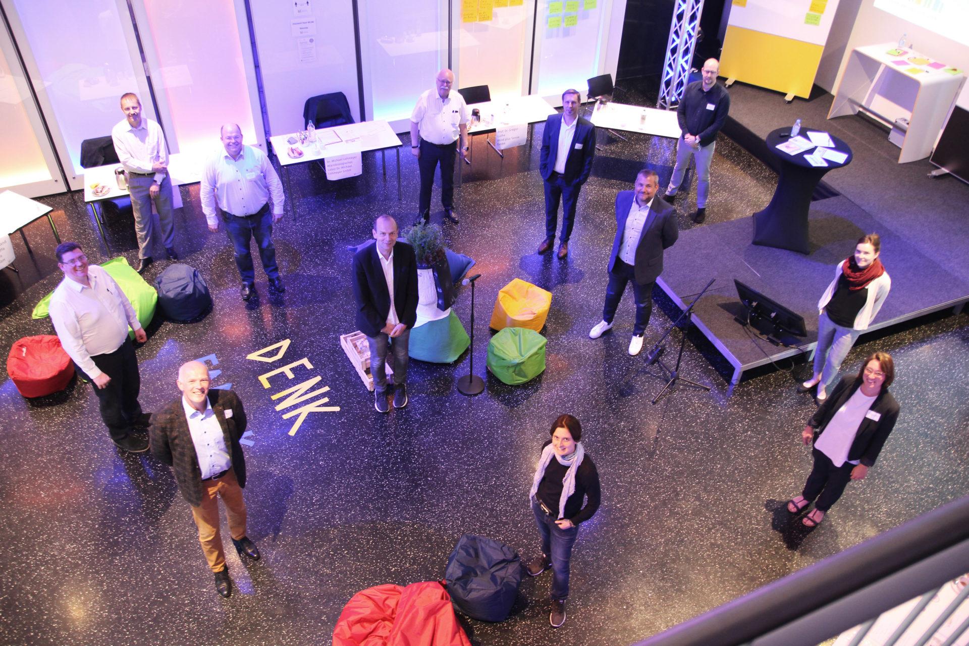 Fünf Coesfelder Unternehmen unterstützen Denkfabriken zur Innovationsförderung