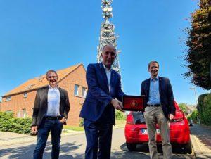 Erste 5G-Antenne im Kreis Coesfeld in Betrieb