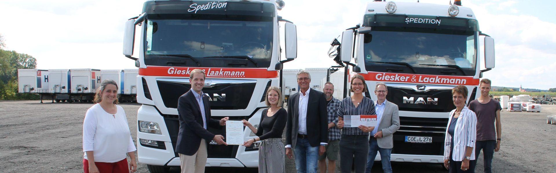 Giesker & Laakmann aus Nottuln als CSR-Unternehmen ausgezeichnet