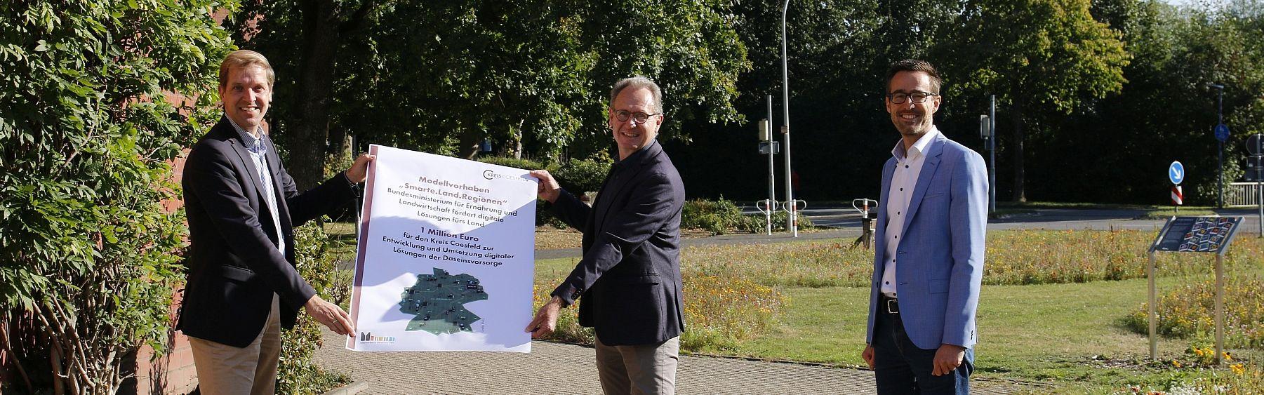 Kreis Coesfeld erhält eine Million Euro für digitale Projekte