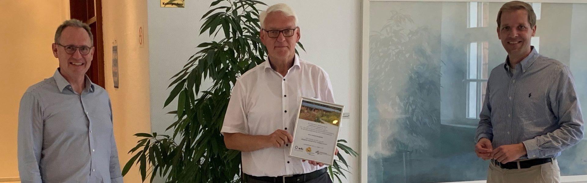 wfc verabschiedet Richard Borgmann als Vorsitzenden der Gesellschafterversammlung
