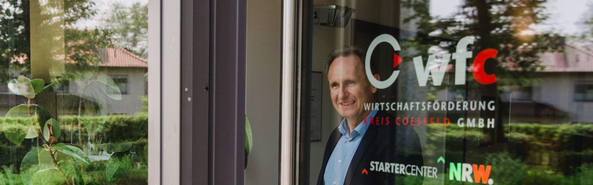 wfc-Geschäftsführer ist Sprecher der Wirtschaftsförderungskonferenz Münsterland